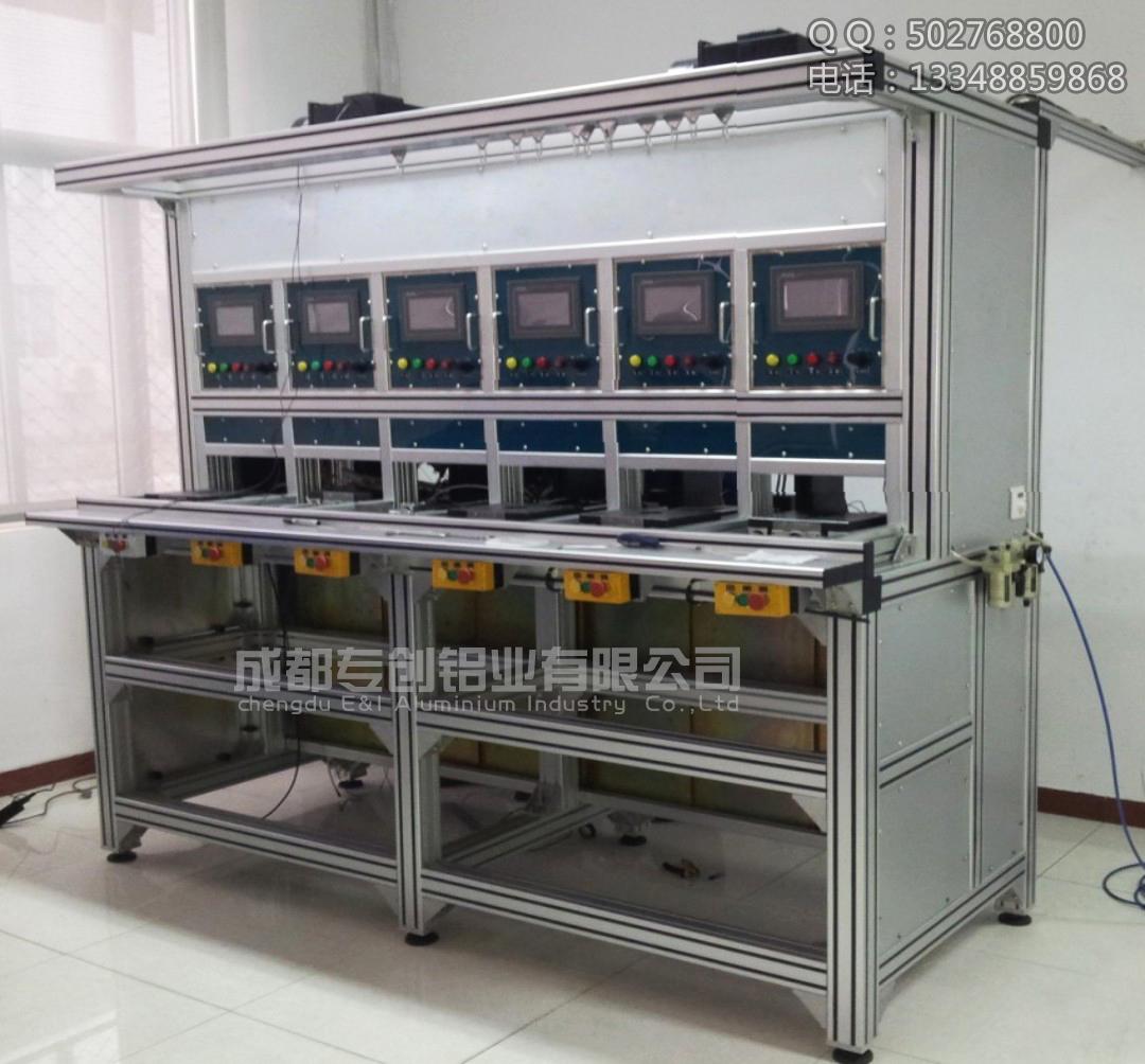 工业铝型材8080K成功安装案例